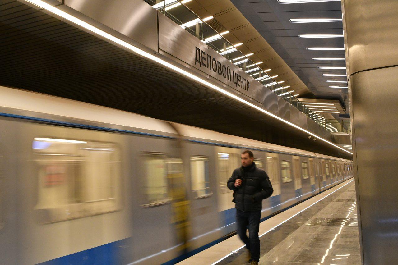 Участок «ЦСКА» – «Деловой центр» БКЛ метро откроют досрочно 22 декабря