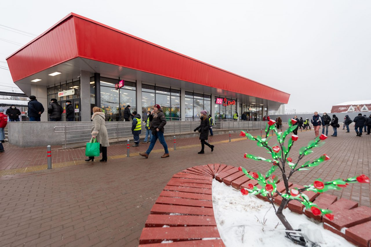 Три остановочных пункта МЦД-2 «Курско-Рижский» реконструировали в Москве в 2020 году