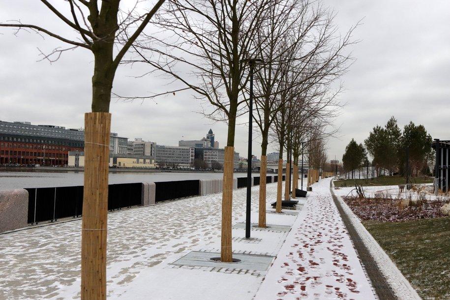 До конца года в столице реконструируют набережную Марка Шагала