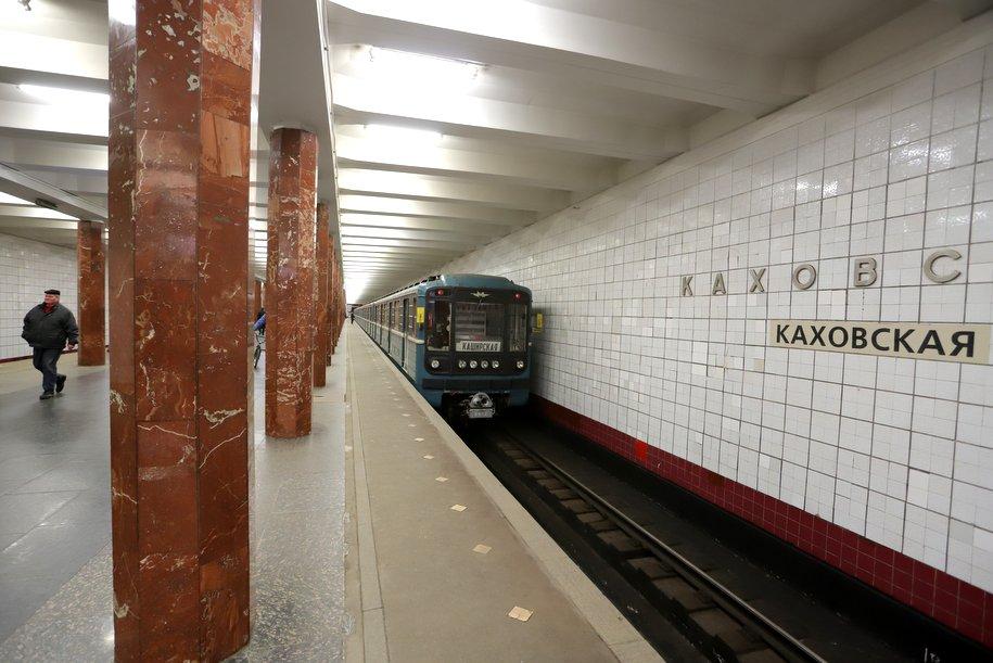 Станция «Каховская» Большого кольца метро готова наполовину