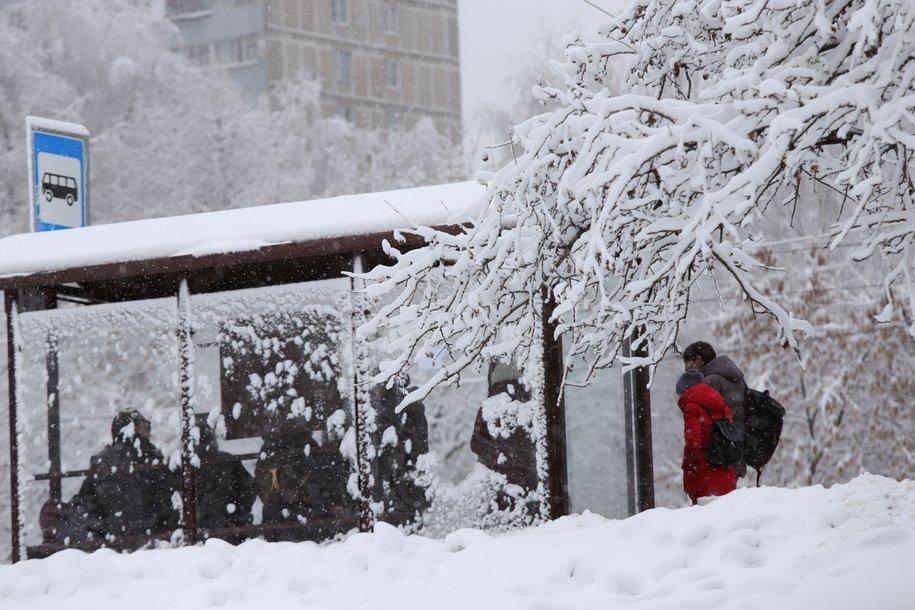 «Жёлтый» уровень погодной опасности продлён в Москве из-за гололёда