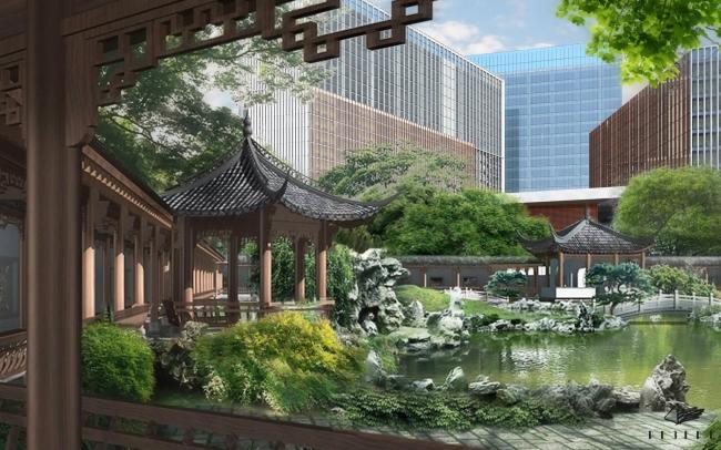 Завершено строительство китайского делового центра «Парк Хуамин»