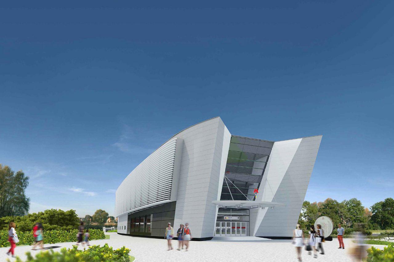 В ТиНАО строится станция метро «Пыхтино»