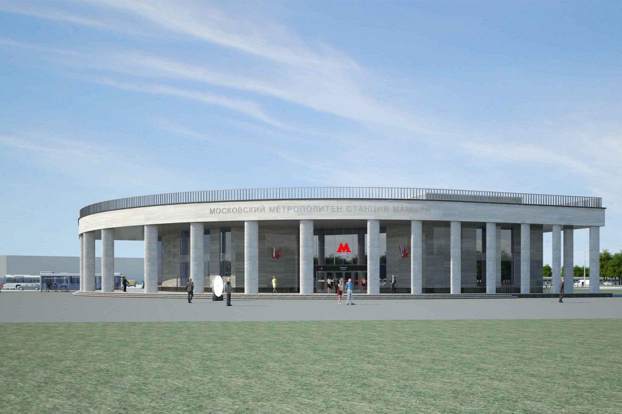 Вестибюль-лепесток будет построен на станции метро «Мамыри»