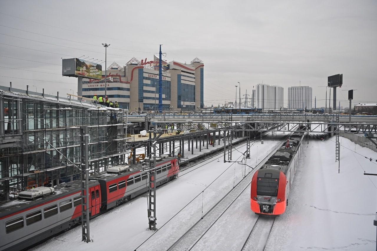 Строительство северного терминала станции МЦК «Локомотив» завершат к октябрю