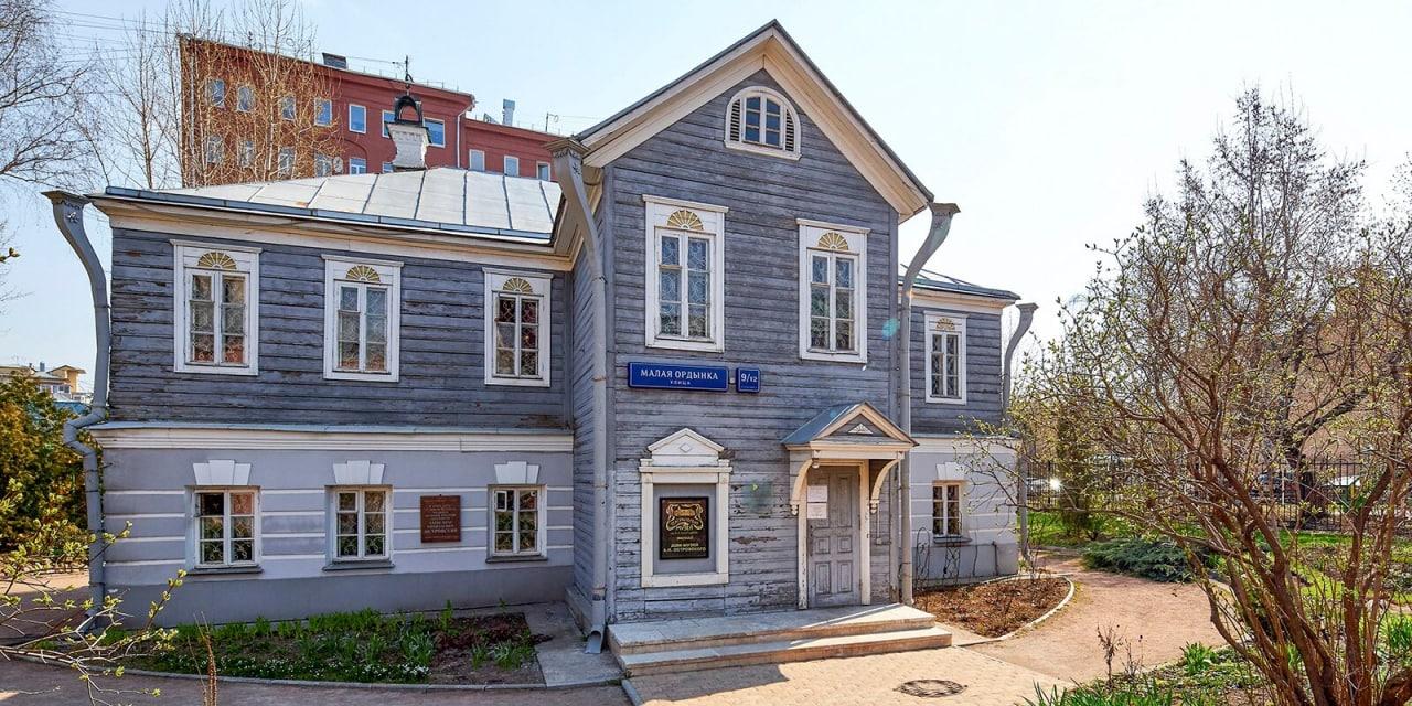 Музей Островского на Малой Ордынке планируют отреставрировать