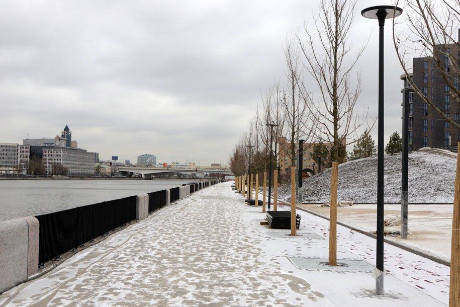 К 2024 году благоустроят более 120 км набережных Москвы-реки