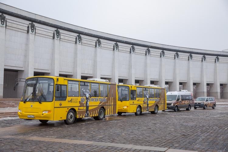 Бесплатные автобусы вновь будут курсировать до Музея Победы