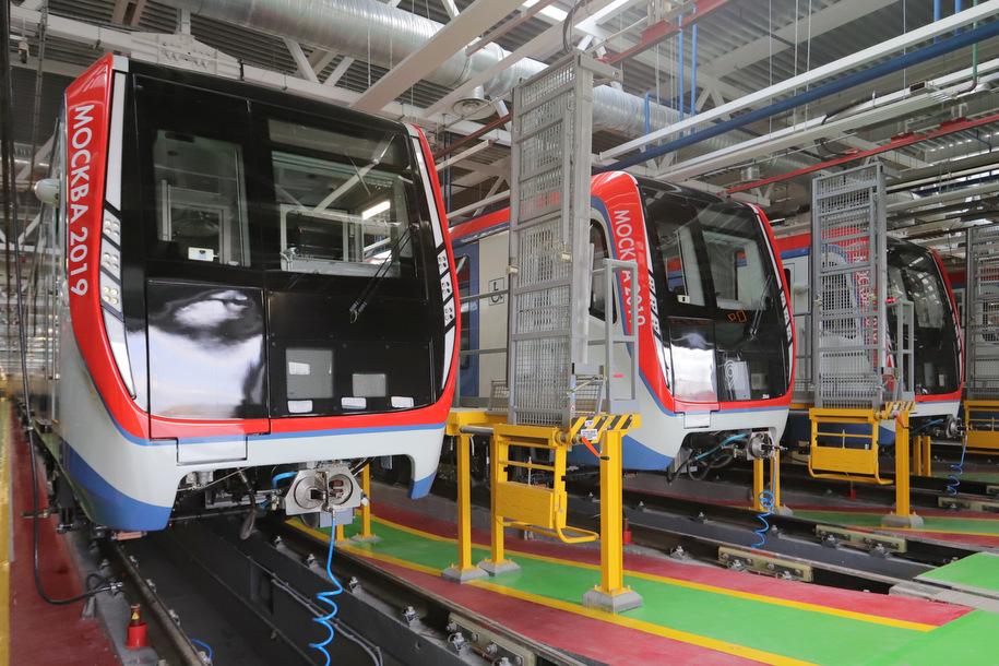 Программа развития метродепо создаст в Москве 14 тысяч рабочих мест