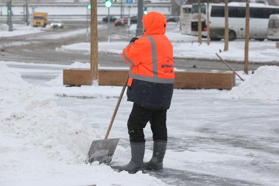 «Жёлтый» уровень погодной опасности продлён в столице до 11 февраля