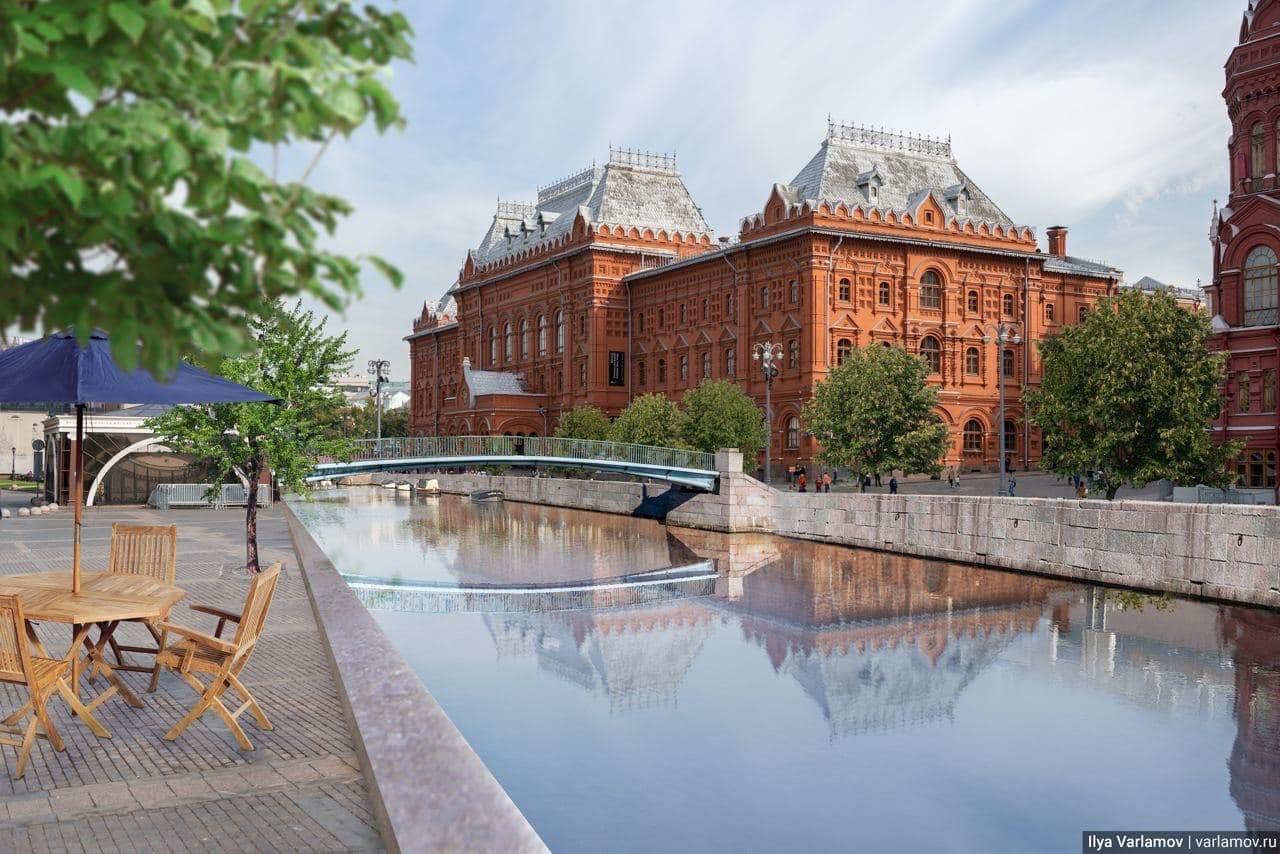 Власти Москвы не планируют возвращать реки в черте города на поверхность