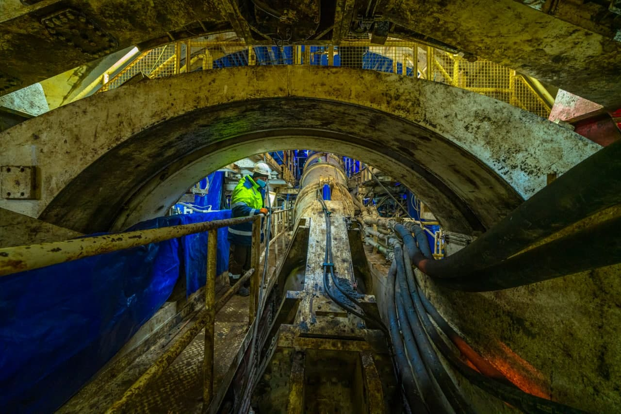 На Бирюлевской линии метро возведут метромост через Москву-реку