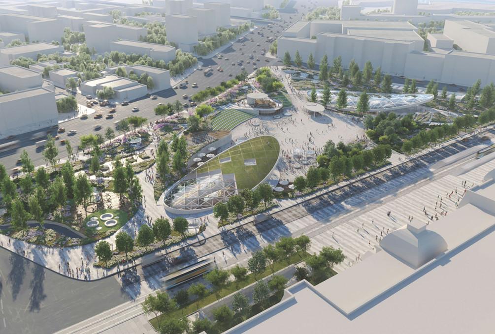 Строительство ТПУ «Павелецкая» планируется завершить до конца года