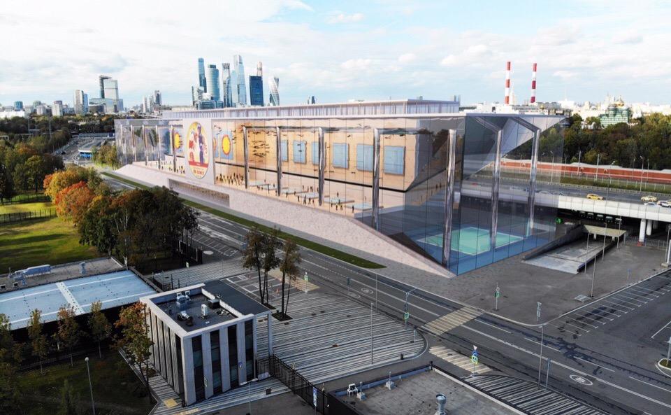 Завершить строительство Дворца единоборств в Лужниках планируется до конца 2021 года