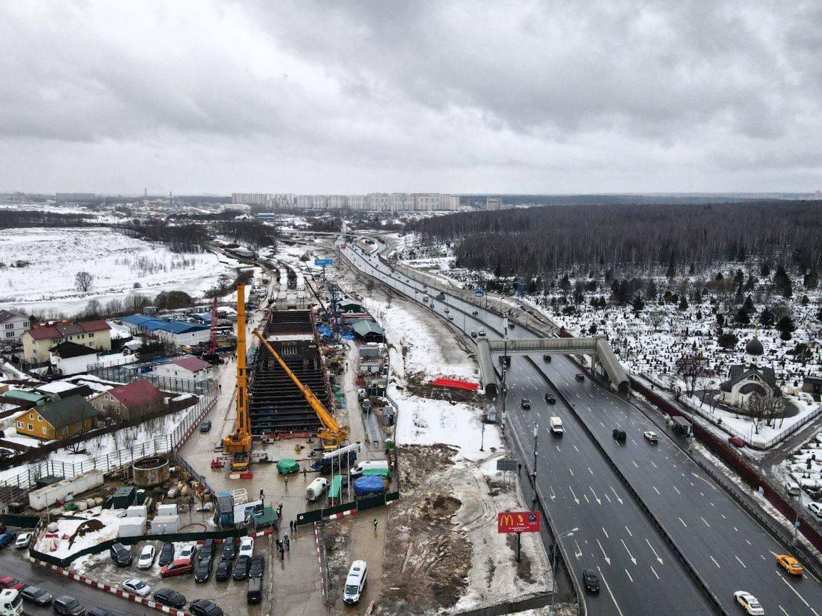 Станции метро «Пыхтино» и «Внуково» планируется запустить в 2023 году