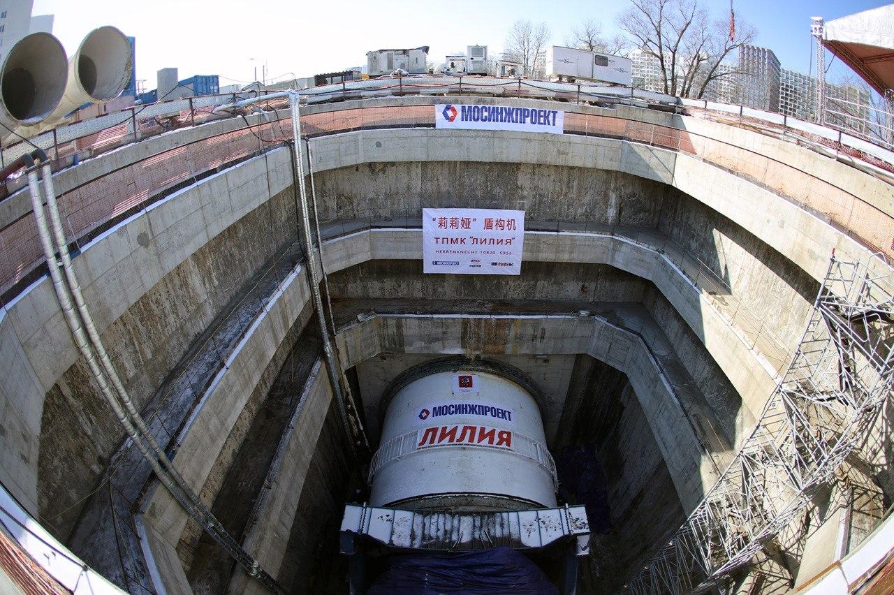 Щит-гигант «Лилия» ускорит строительство на востоке БКЛ метро
