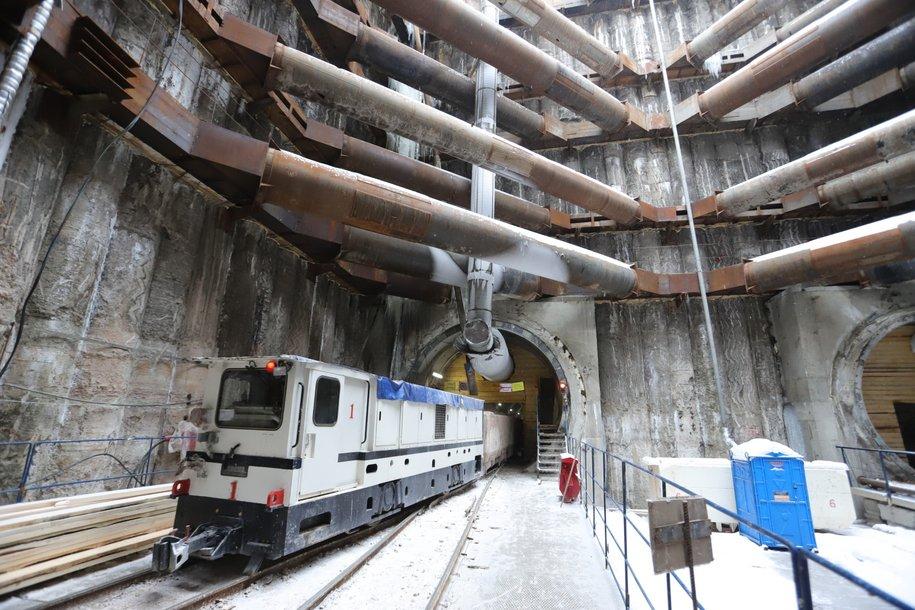 Началось строительство второго тоннеля между БКЛ метро и депо «Замоскворецкое»