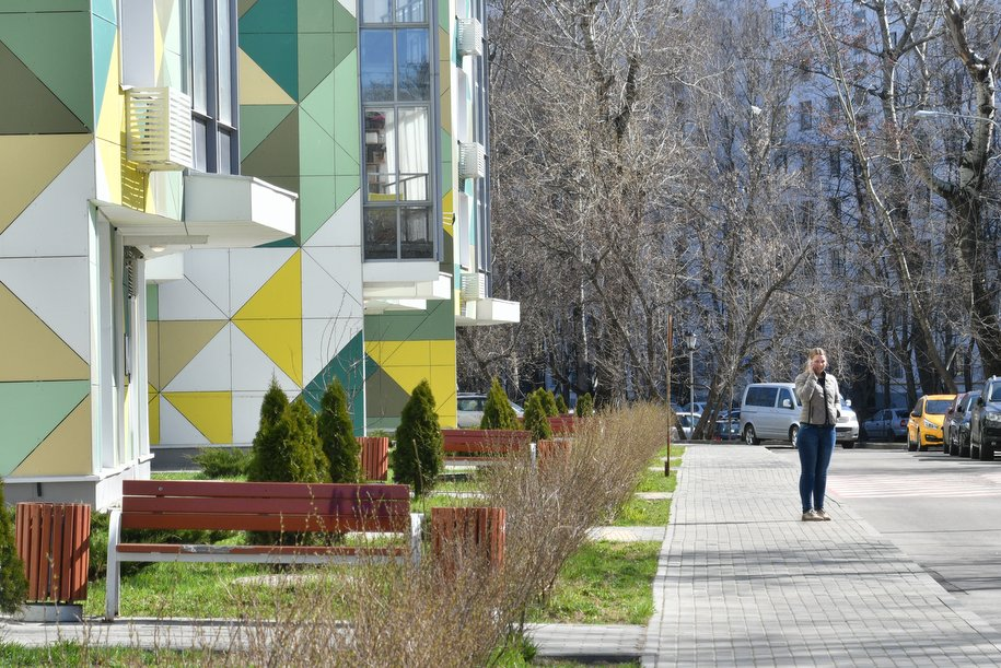 В Царицыно завершилось строительство дома по реновации