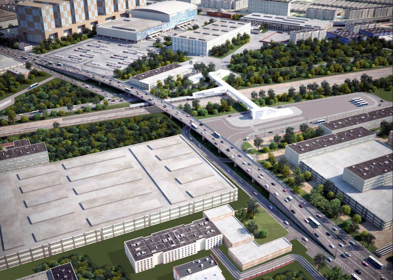 Начался основной этап строительства новой улично-дорожной сети и моста на ЗИЛе