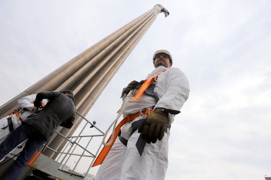 Для уборки станций МЦД привлекут альпинистов