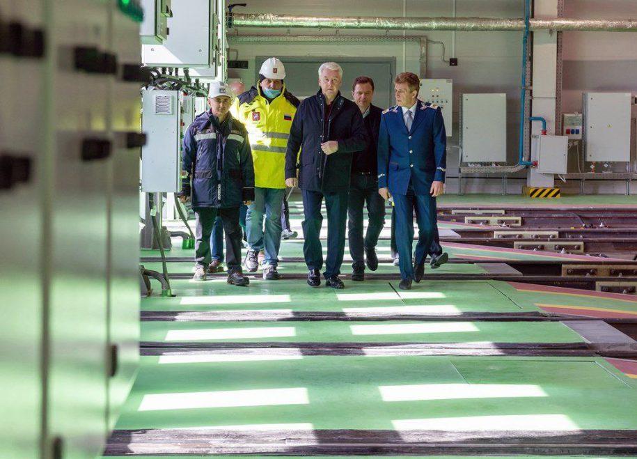 В электродепо «Сокол» впервые в Москве установлена микропроцессорная система управления поездами