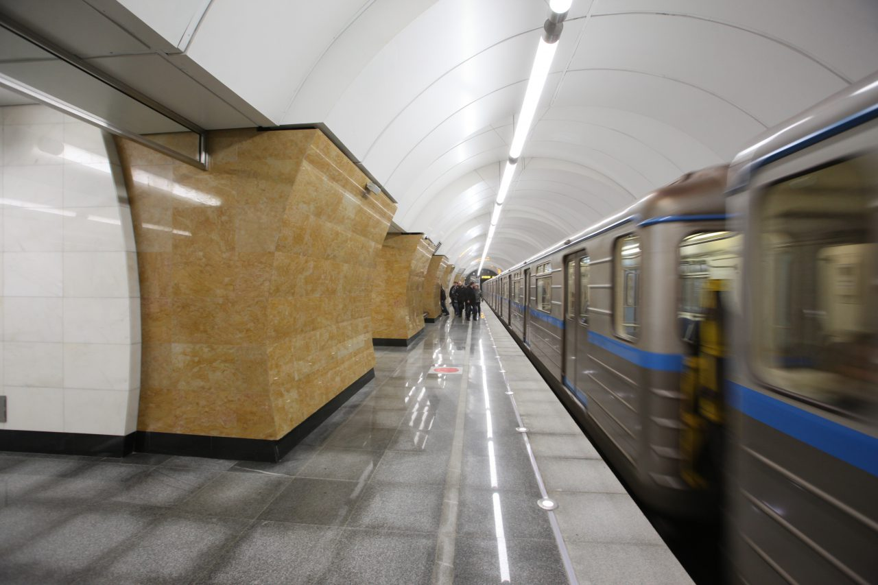 На станциях второго этапа западного участка БКЛ продолжаются отделочные работы