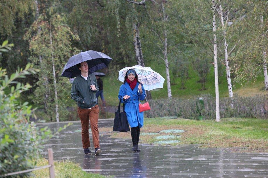 В Москве ожидается облачная погода с дождём