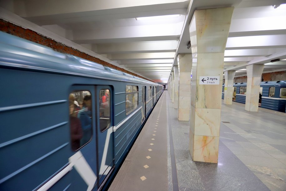 Участок метро «Дубровка-Воложская» закроют с 1 по 23 мая