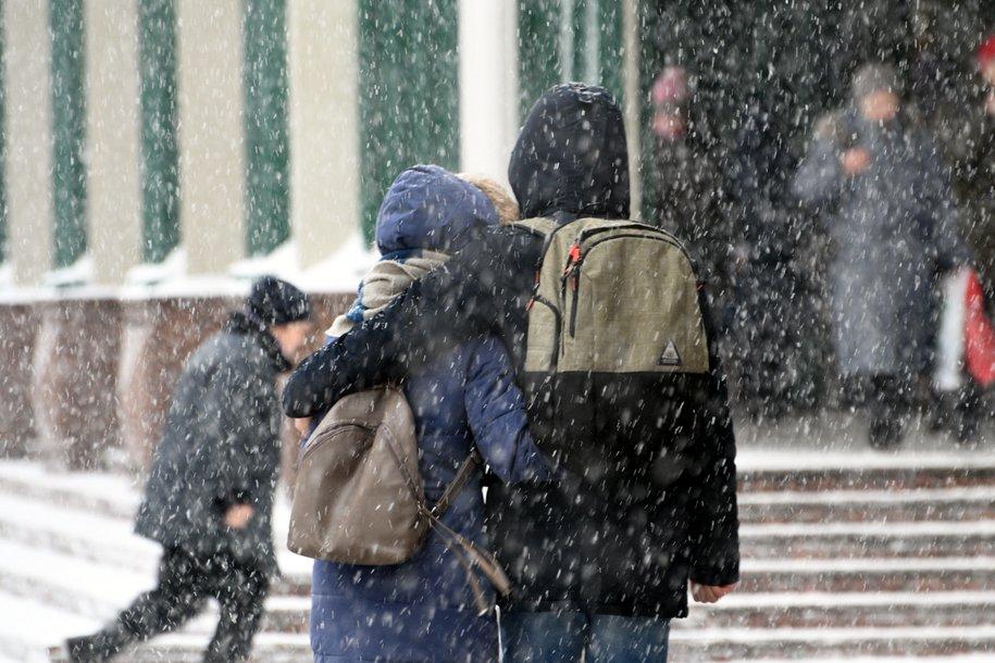 Мощный снегопад накроет Москву в ближайшие сутки