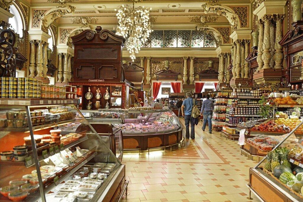 Столичные власти планируют сохранить магазин «Елисеевский»