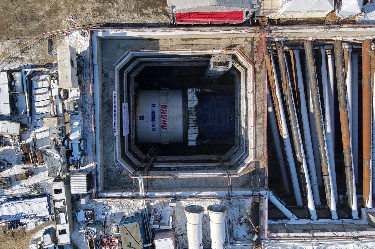 Проходка тоннелей БКЛ метро завершена на 95%