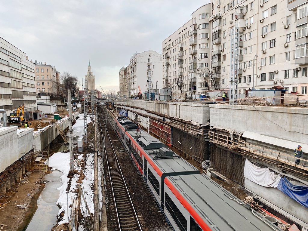 Второй этап реконструкции участка железной дороги Каланчевская – Курская начнется летом