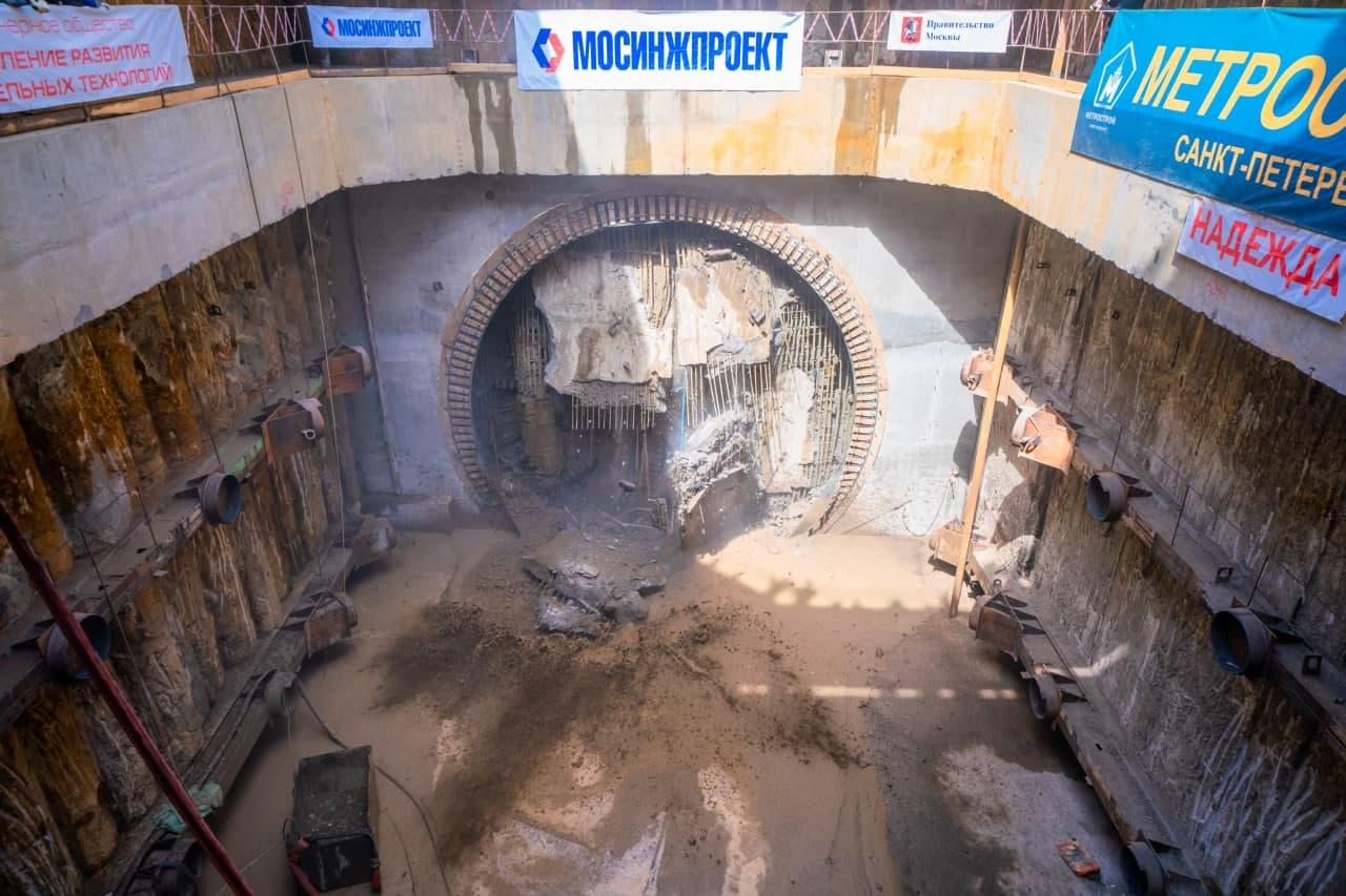 Завершена проходка второго тоннеля между депо «Замоскворецкое» и БКЛ