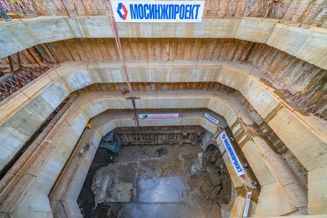 До конца года будут пройдены все тоннели Большого кольца метро