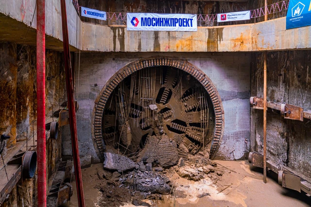 Пройден тоннель на юго-западном участке Большой кольцевой линии метро