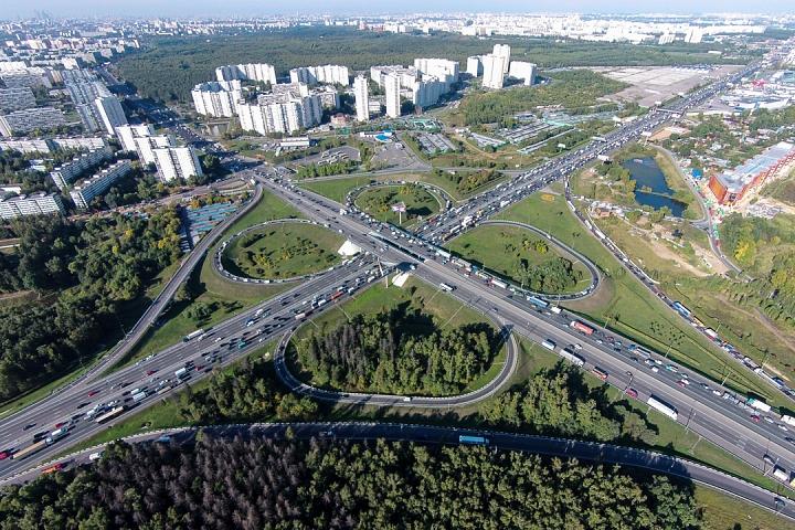 Началась реконструкция транспортной развязки МКАД с Липецкой улицей
