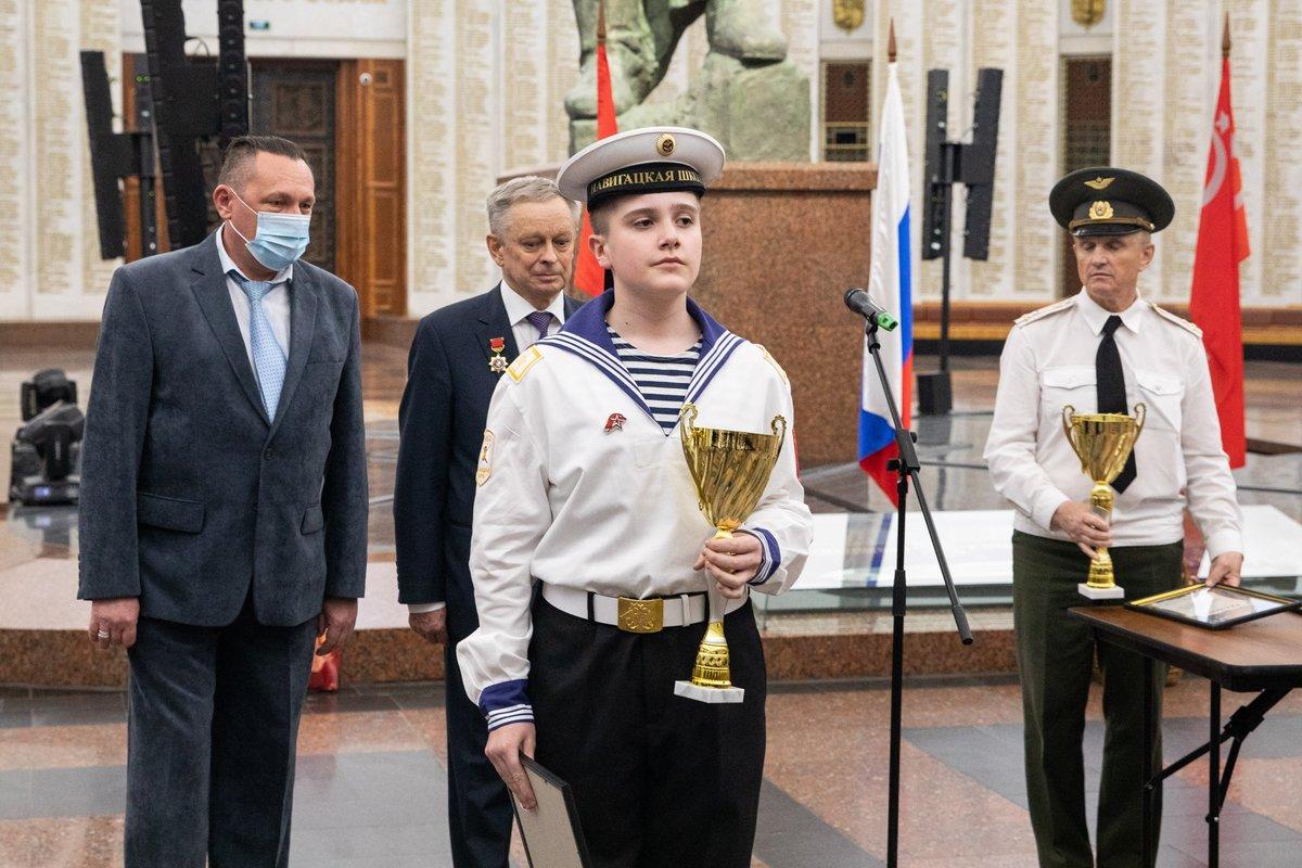 В Музее Победы наградили лучших московских кадетов