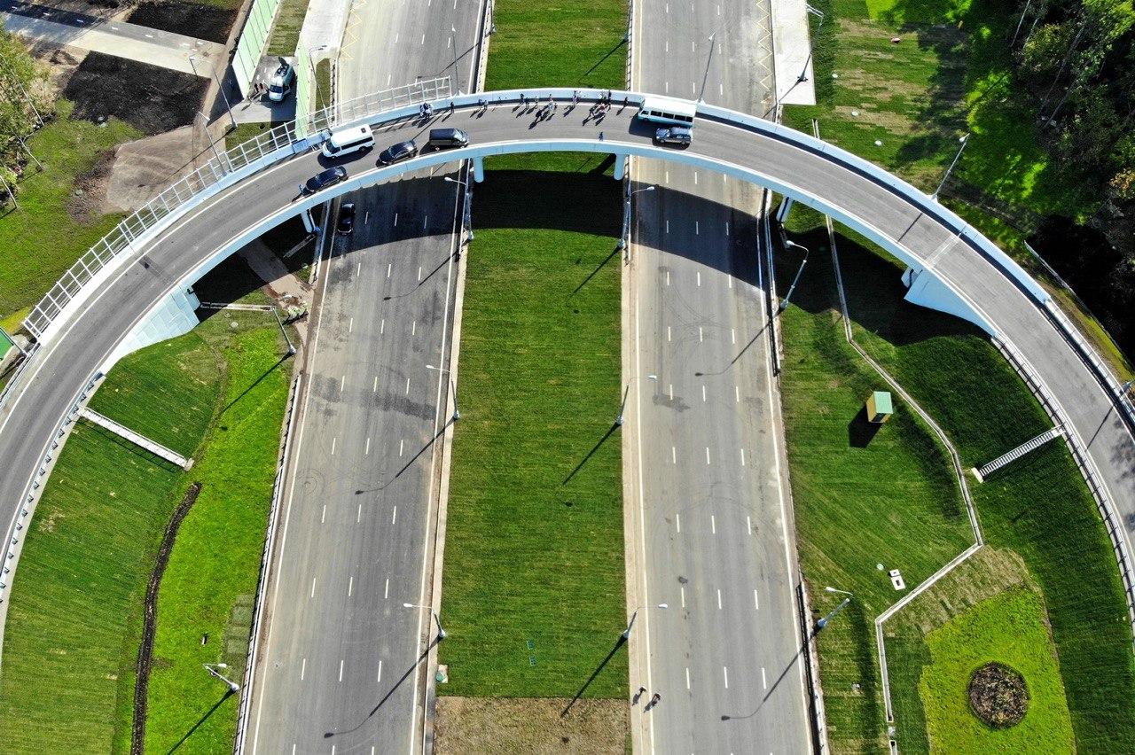 Развязку на пересечении МКАД с Липецкой улицей реконструируют до конца 2023 года