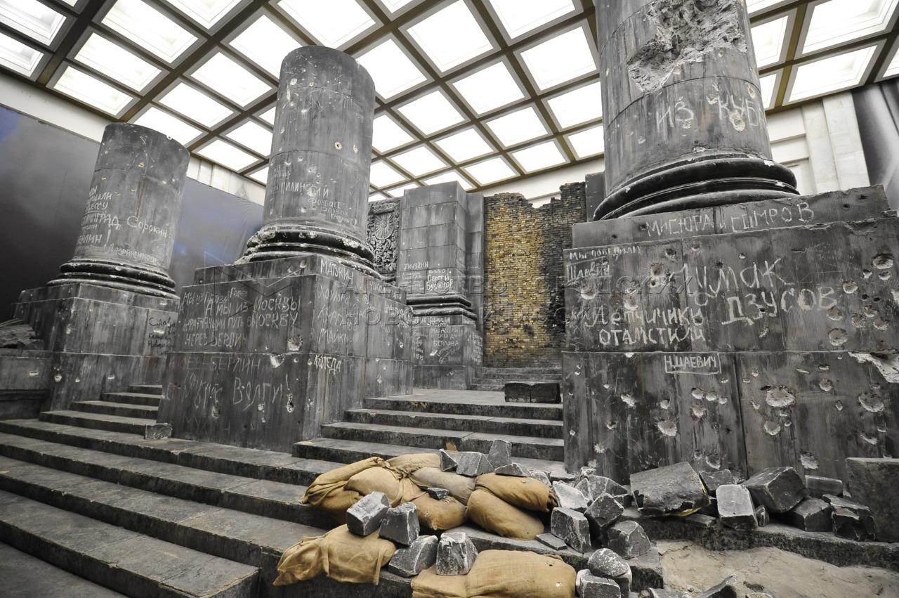 Музей Победы проведет реконструкцию панорамы «Битва за Берлин. Подвиг знаменосцев»