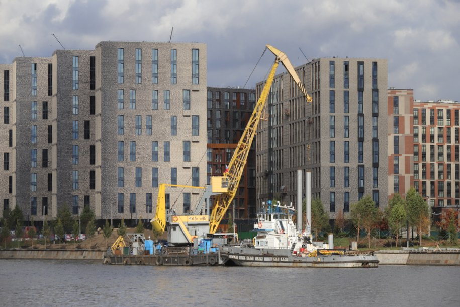 С начала года на территории бывших промзон Москвы введено почти 1,4 млн кв.м различной недвижимости