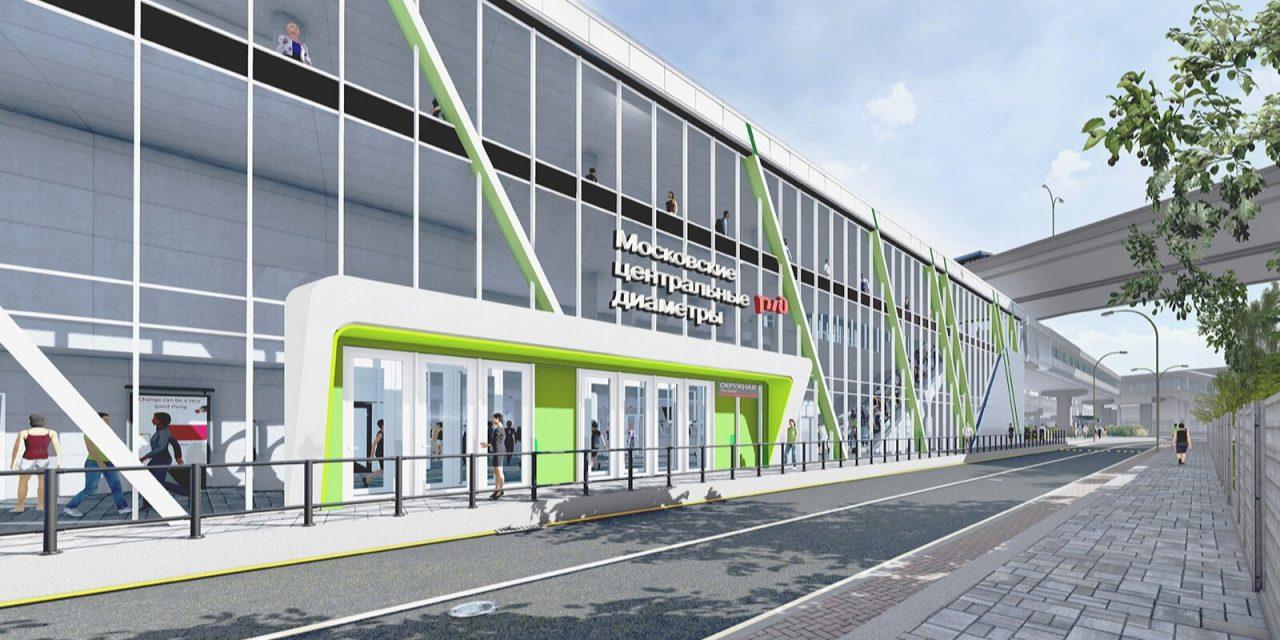 Реконструкция железнодорожной станции «Окружная» завершится к концу 2022 года