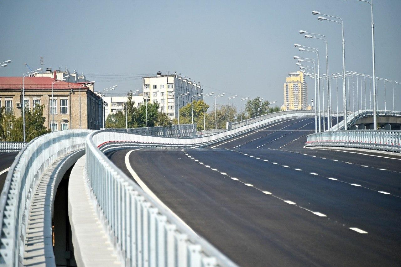 Завершено строительство эстакады съезда с СВХ на 5-й проезд Подбельского
