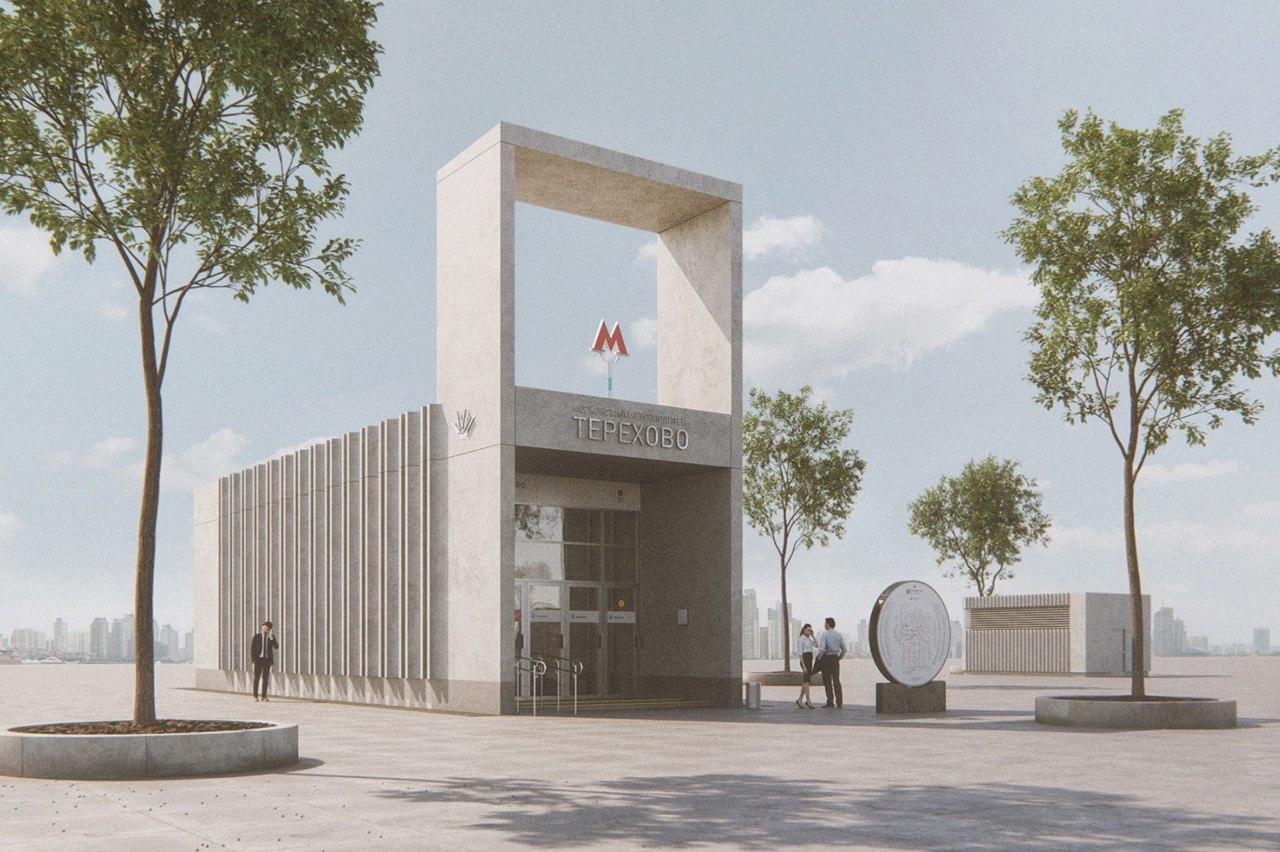 На станции «Терехово» Большого кольца метро завершен монтаж эскалаторов