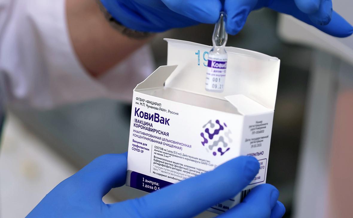 В столичных больницах закончился препарат от коронавируса «КовиВак»