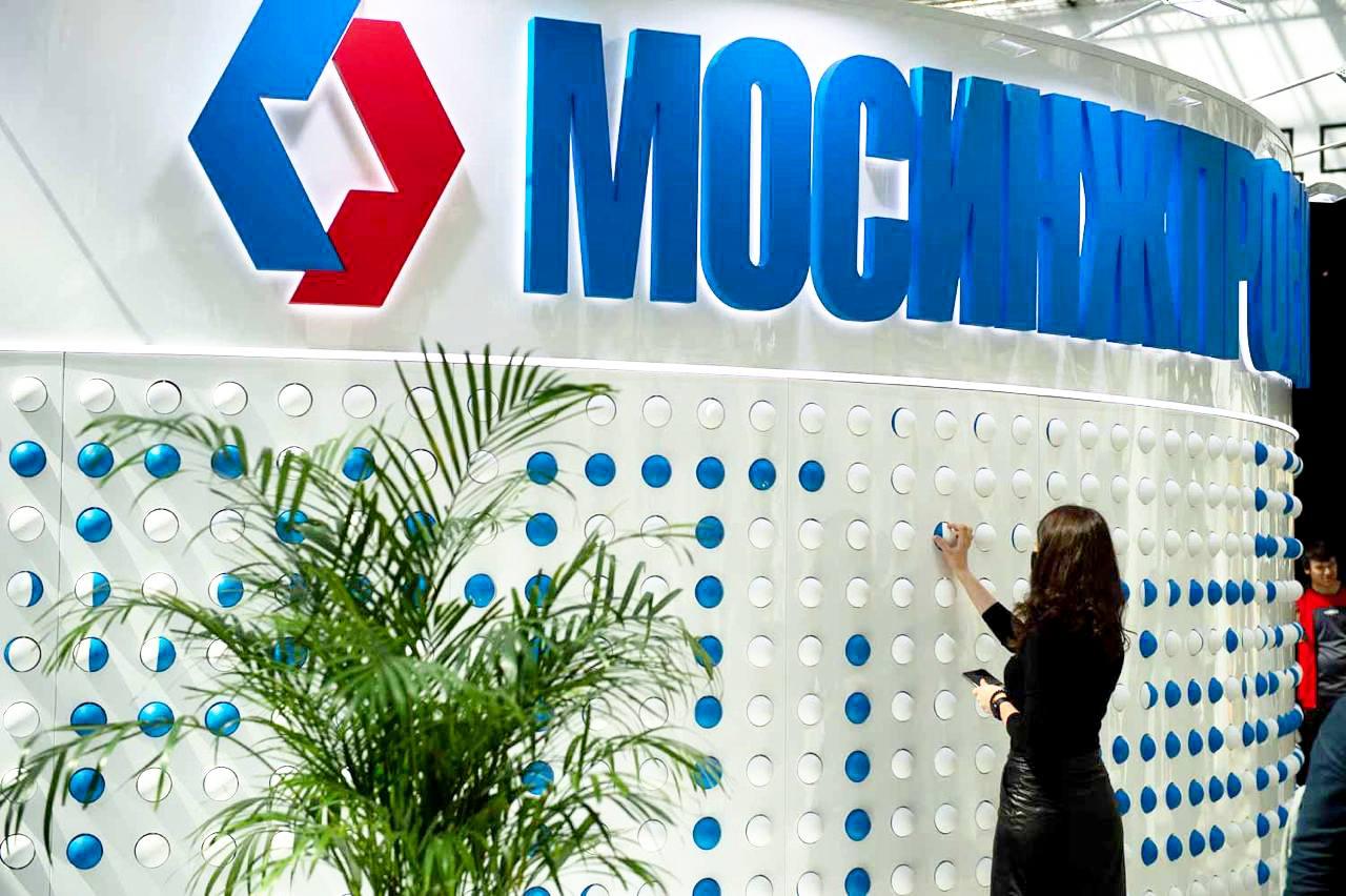 Стенд«Мосинжпроекта» на выставке АРХ Москва был самым интерактивным