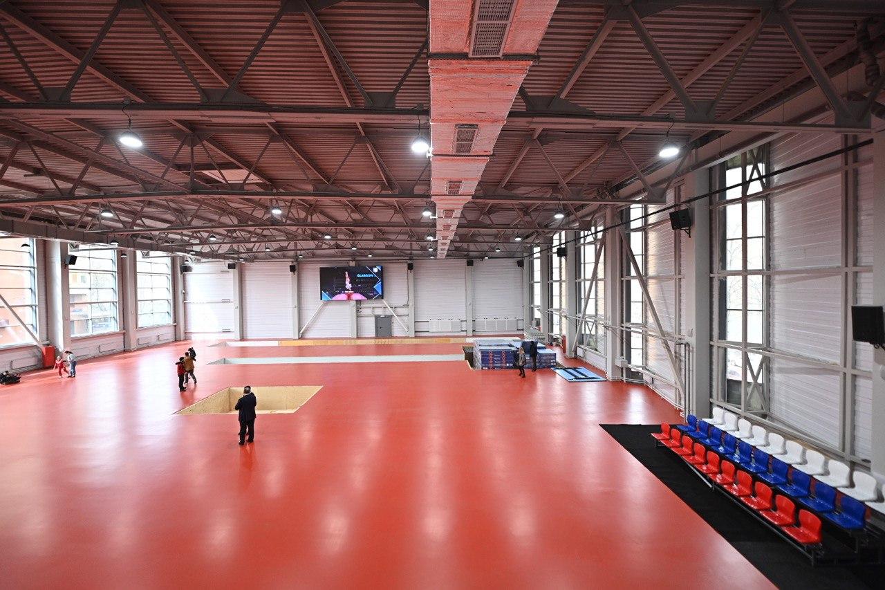 Завершается строительство Центра спорта «Самбо-70» на юго-западе Москвы