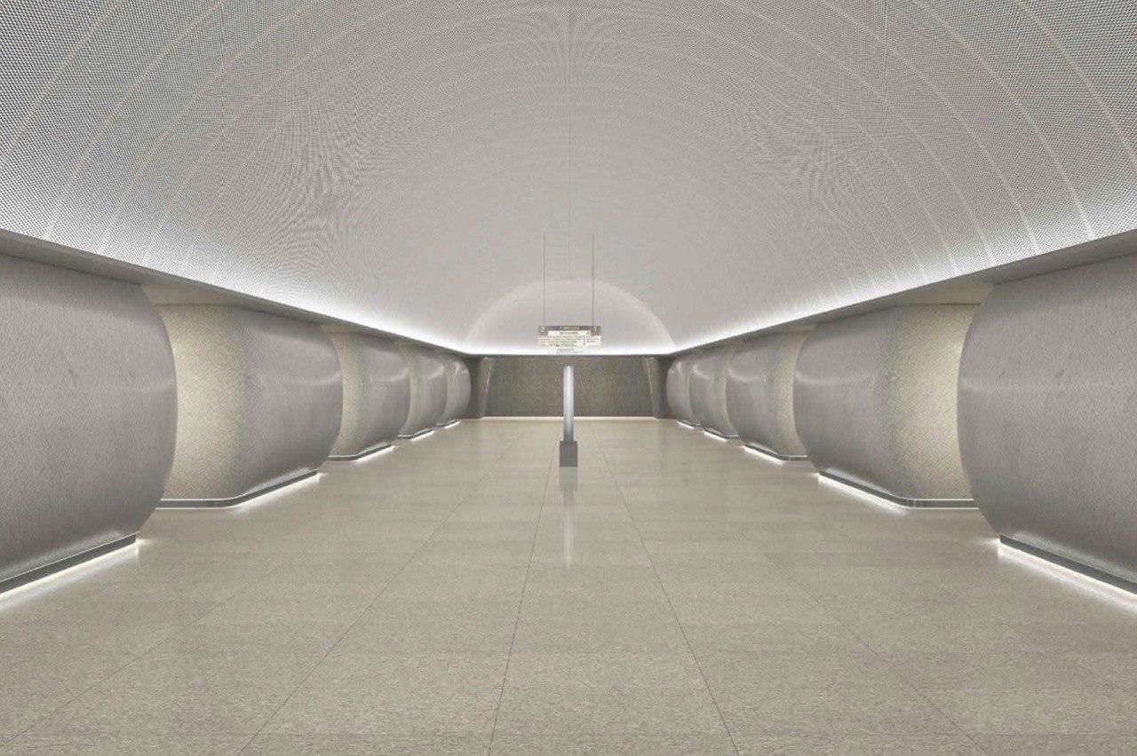 На станции БКЛ метро «Марьина Роща» готов левый станционный тоннель