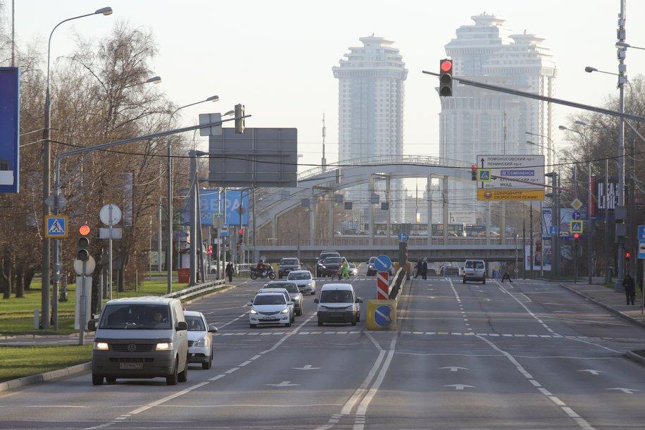 Завершается первый этап строительства развязки на пересечении Северного дублера Кутузовского проспекта и ТТК