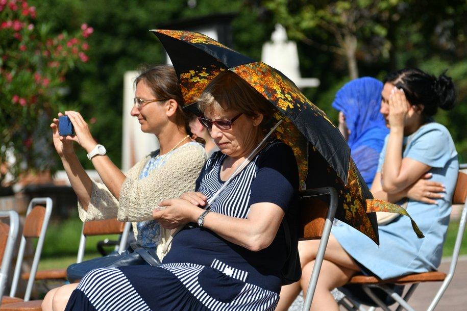 В Москве продлён «оранжевый» уровень погодной опасности