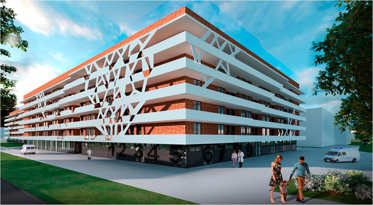 Началось устройство фундамента нового многопрофильного комплекса для больницы святого Владимира